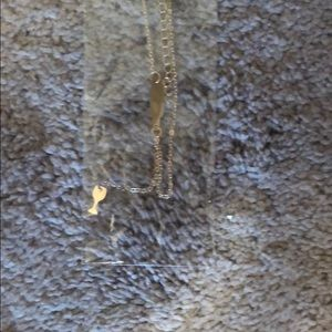 NWT wine necklace